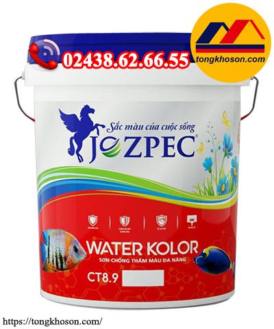 Sơn chống thấm màu Jozpec Water Kolor