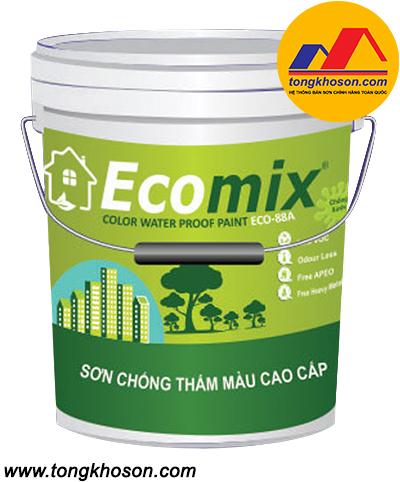 Sơn Ecomix ECO-88A chống thấm màu