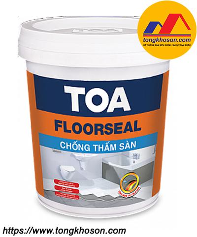 Sơn chống thấm pha xi măng Sàn Toa FloorSeal