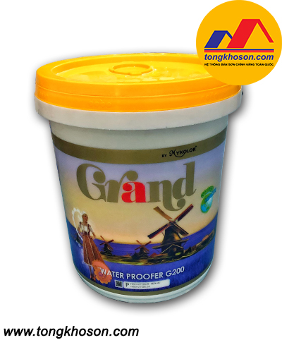Sơn chống thấm màu Mykolor Water Proofer G200
