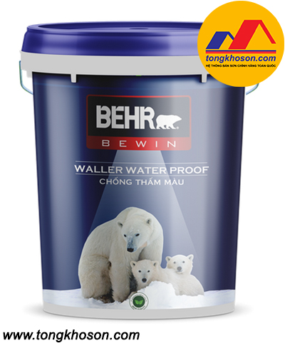 Chống thấm màu Behr Waller Water Proof