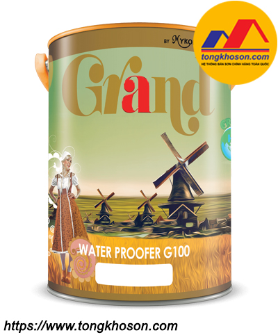 Sơn chống thấm cao cấp Mykolor Grand Water Proofer G100