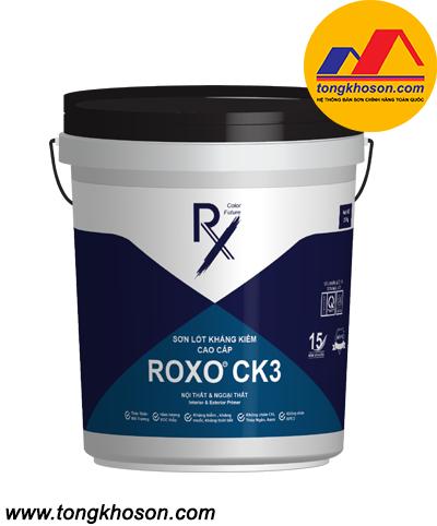 Sơn lót chống kiềm cao cấp nội ngoại thất Roxo CK3