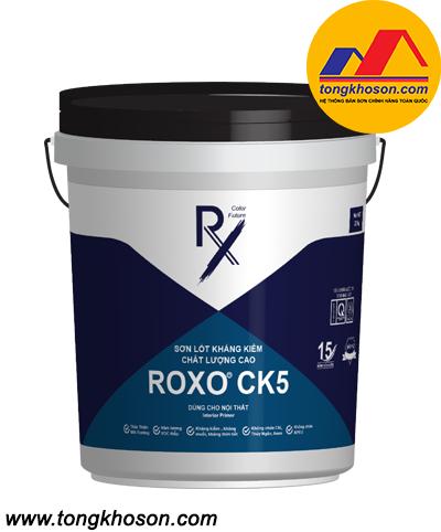 Sơn lót kháng kiềm chất lượng cao Roxo CK5