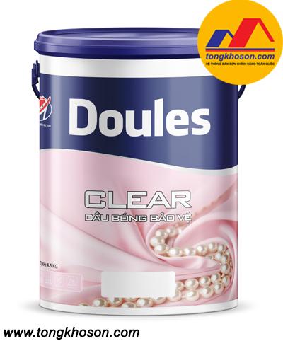 Sơn dầu bóng bảo vệ Doules - Clear