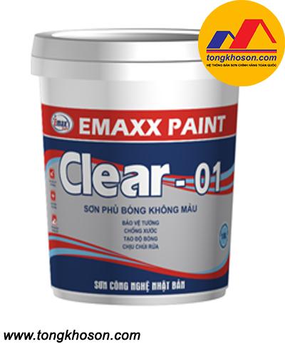 Dầu bóng Emax Clear 01