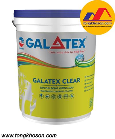 Dầu bóng Galatex không màu
