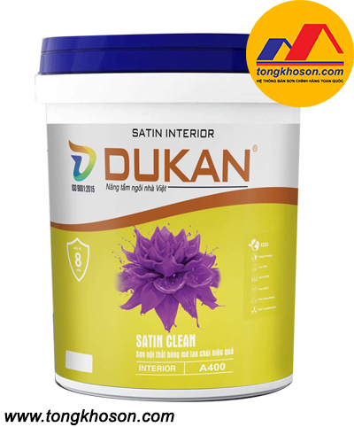 Sơn Dukan Satin Clean