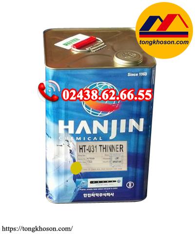 Dung môi pha sơn epxoy Hanjin Thinner HT031