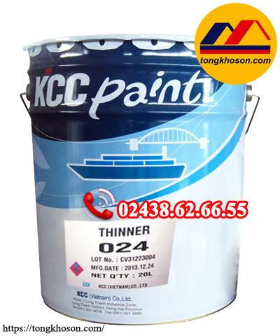 Dung môi pha sơn epoxy KCC 024