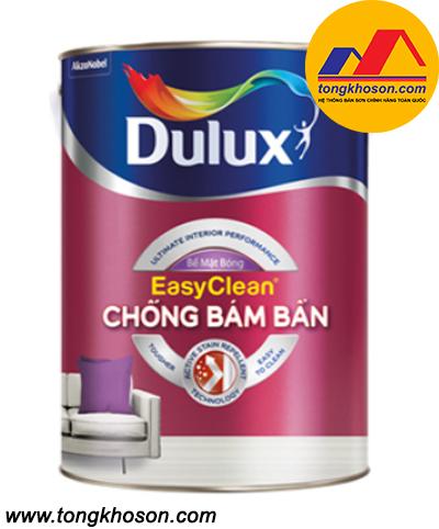 Sơn nội thất cao cấp Dulux Easy Clear chống bám bẩn(Z966B) - bề mặt bóng