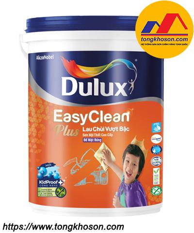 Sơn nội thất Dulux Easy Clean Plus lau chùi vượt bậc bóng 74AB
