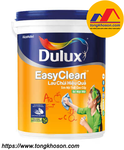 Sơn nội thất Dulux Easy Clean Lau chùi hiệu quả A991
