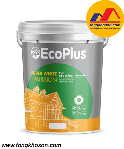 Sơn siêu trắng cao cấp EcoPlus - E60