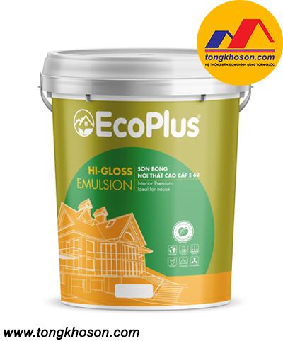 Sơn EcoPlus E-62 bóng nội thất cao cấp