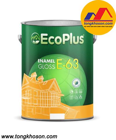 Sơn men sứ nội thất cao cấp EcoPlus E-63