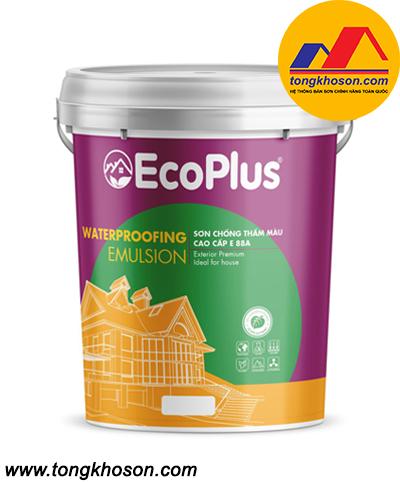 Sơn chống thấm màu cao cấp EcoPlus E-88A