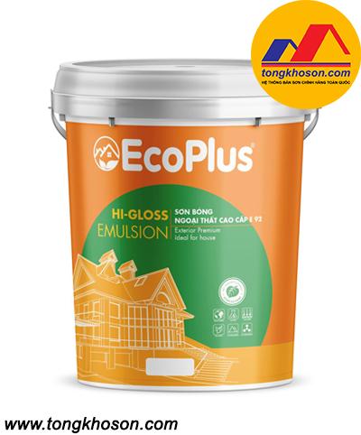 Sơn bóng ngoại thất cao cấp EcoPlus - E92