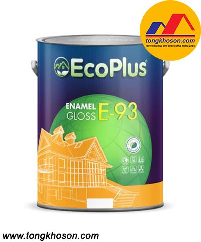 Sơn Men Sứ Ngoại Thất Cao Cấp EcoPlus - E93