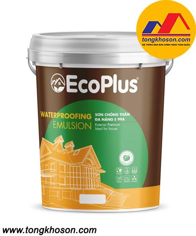 Sơn chống thấm pha xi măng EcoPlus E-99A