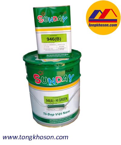 Sơn Epoxy chống hóa chất Axit mạnh 946 Noroo Nanpao