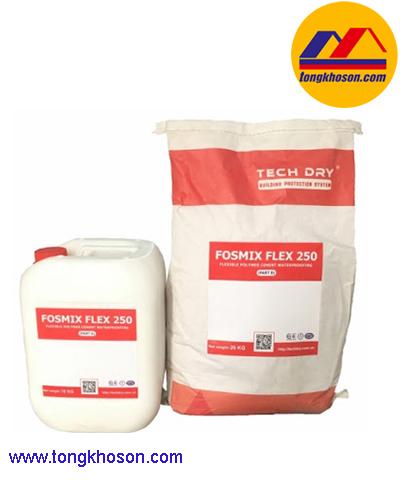 Sơn chống thấm Fosmix Flex 250 2 thành phần