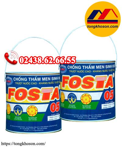 Chất Chống thấm men sinh hóa Fosta 05