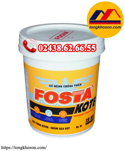 Hợp chất chống thấm Fosta Kote gốc Bitum