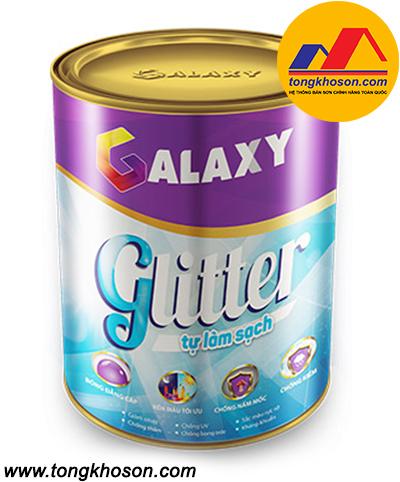 Sơn Galaxy Glitter ngoại thất siêu bóng