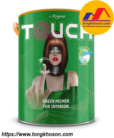 Sơn lót sinh học nội thất Mykolor Touch Green Primer For Interior