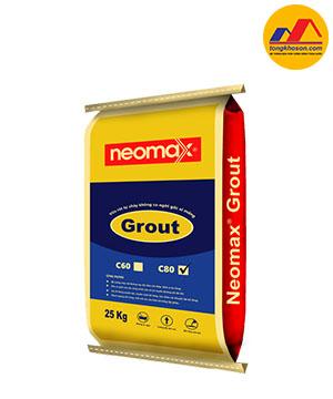 Vữa rót trộn sẵn gốc xi măng Neomax® Grout C80