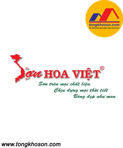 Sơn trên kính Hoa Việt