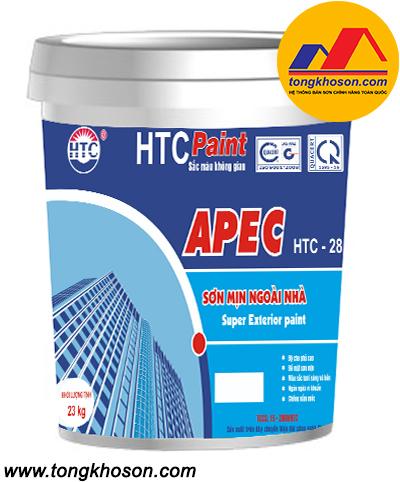 Sơn Apec Luxury HTC-28 ngoại thất láng mịn