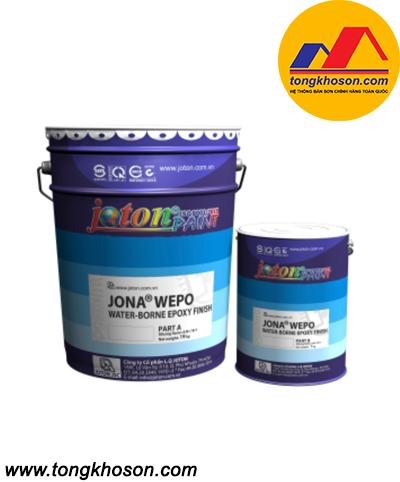 Sơn phủ epoxy gốc nước Joton Jona Wepo WEF80
