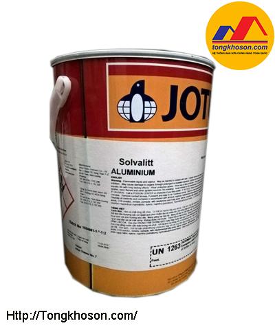 Sơn chịu nhiệt Jotun Solvalitt Aluminium 600oC