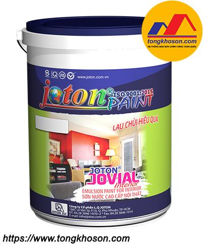 Sơn Joton nội thất lau chùi hiệu quả Jovial