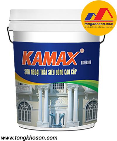 Sơn Kamax ngoại thất siêu bóng