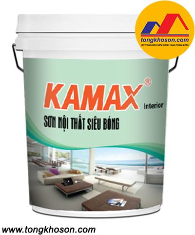 Sơn Kamax nội thất siêu bóng