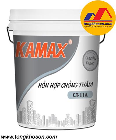 Sơn Kamax chống thấm pha xi măng