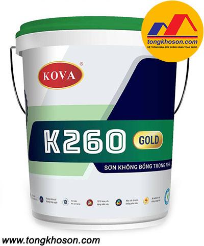 Sơn Kova K260 không bóng trong nhà