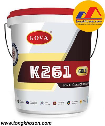 Sơn Kova K261 không bóng ngoài trời