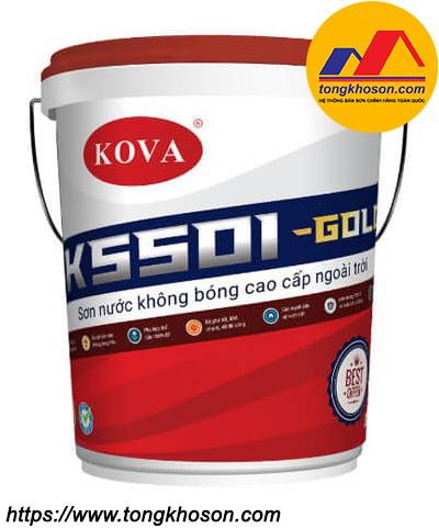 Sơn Kova K5501 không bóng ngoài trời