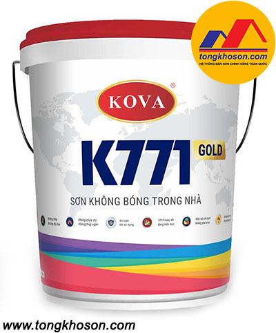 Sơn Kova K771 không bóng trong nhà
