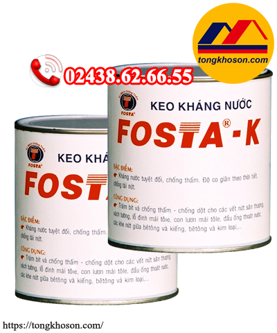 Keo kháng nước Fosta - K