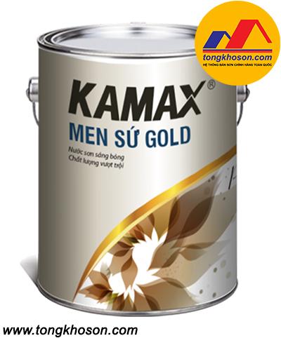 Sơn men sứ Kamax nội thất GOLD