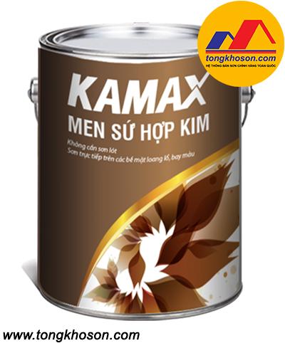 Sơn men sứ Kamax Hợp Kim ngoại thất