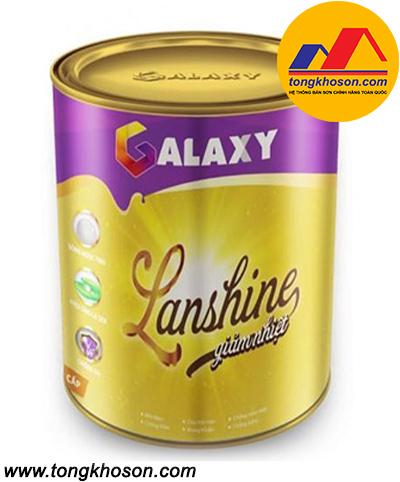 Sơn Galaxy Lanshine ngoại thất bóng ngọc trai