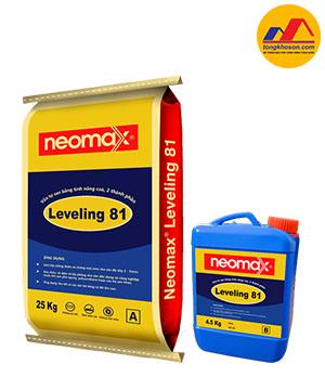 Vữa tự san bằng cho sàn Neomax® Leveling 81, 2 thành phần
