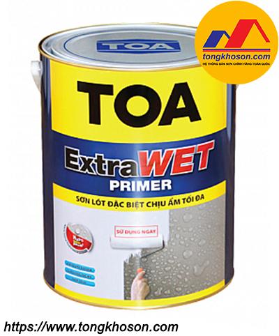 Sơn lót chịu ẩm Toa Extra Wet Primer