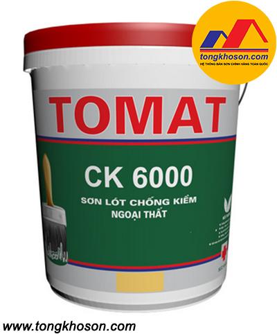 Sơn lót chống kiềm Tomat CK 6000 ngoại thất